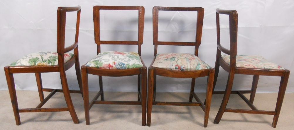 Set Of Four Oak 1930 S Dining Chairs Sold